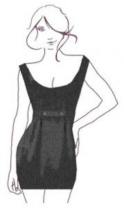 BHs für Kleider mit weitem Ausschnitt