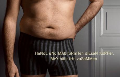 Mey Herrenunterwäsche Anzeige