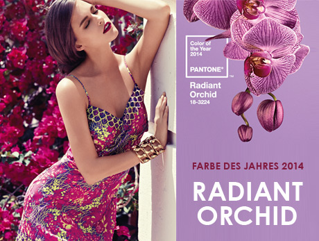 Farbe des Jahres Radiant Orchid