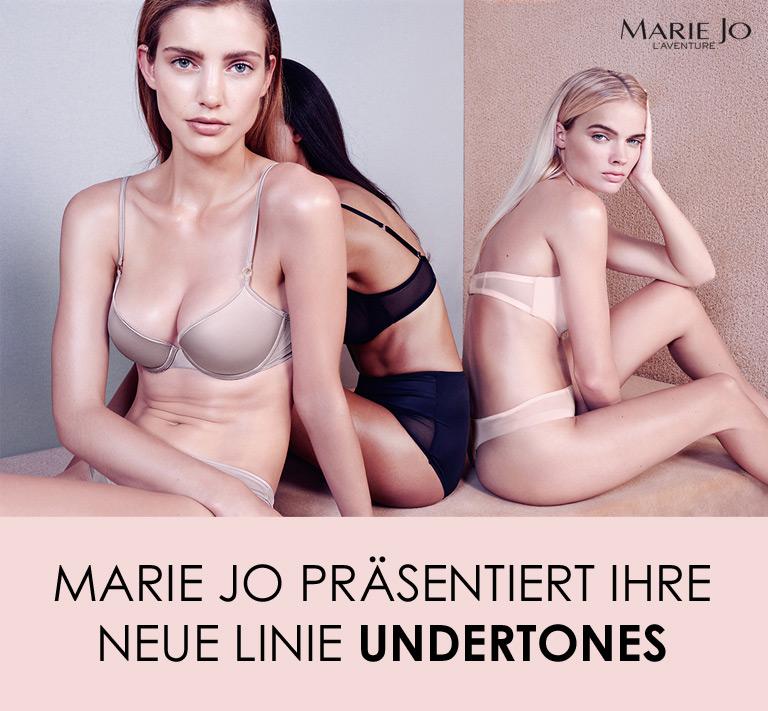 Marie Jo präsentiert ihre neue Linie Undertones