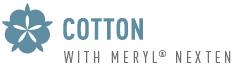Cotton with merylnexten