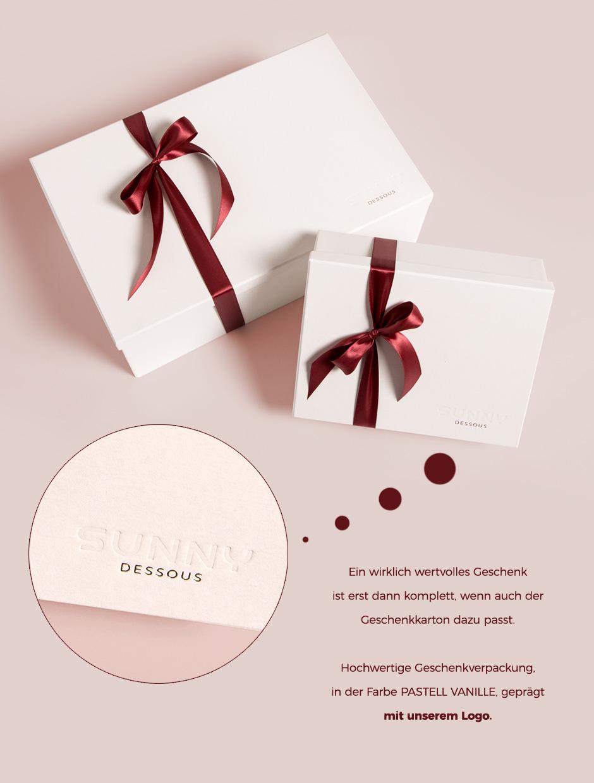 Geschenkverpackung Deluxe Neu