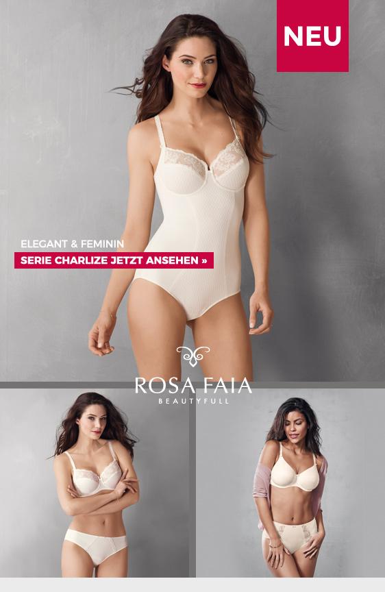 Rosa Faia Charlize elegant feminin charmant