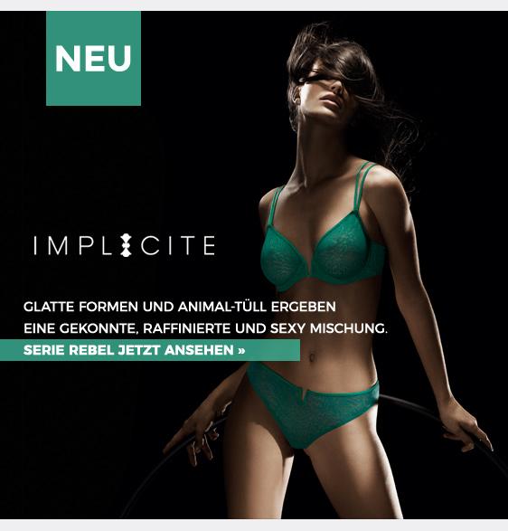 implicite rebel grün raffiniert sexy animal-tüll