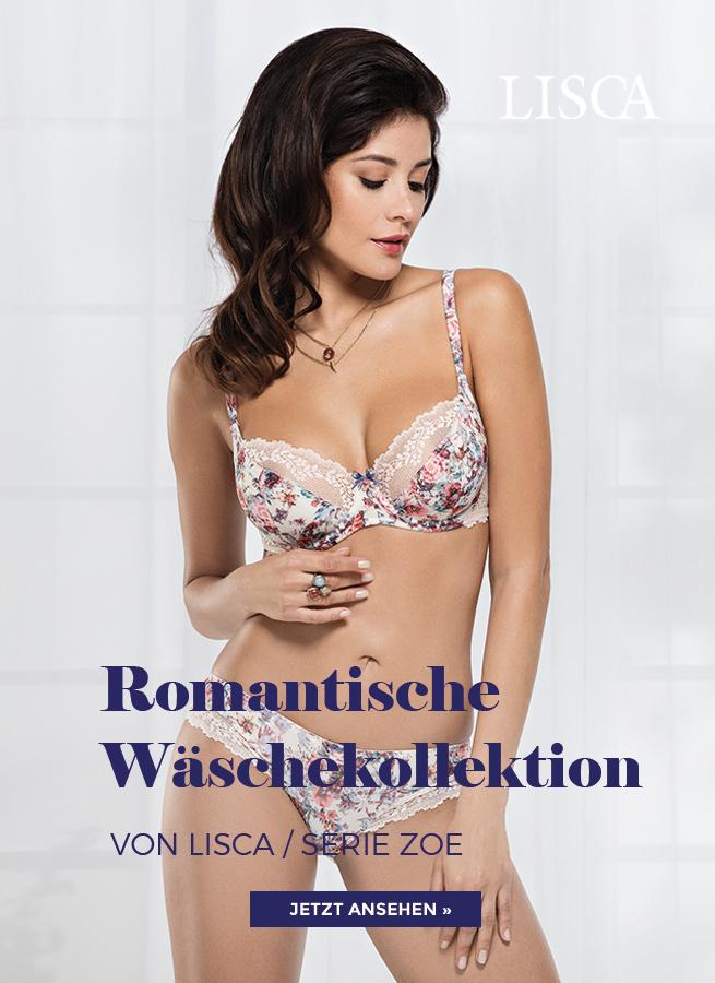 Losca Serie Zoe eine romantische Wäschekollektion die Frühlingsgefühle weckt!