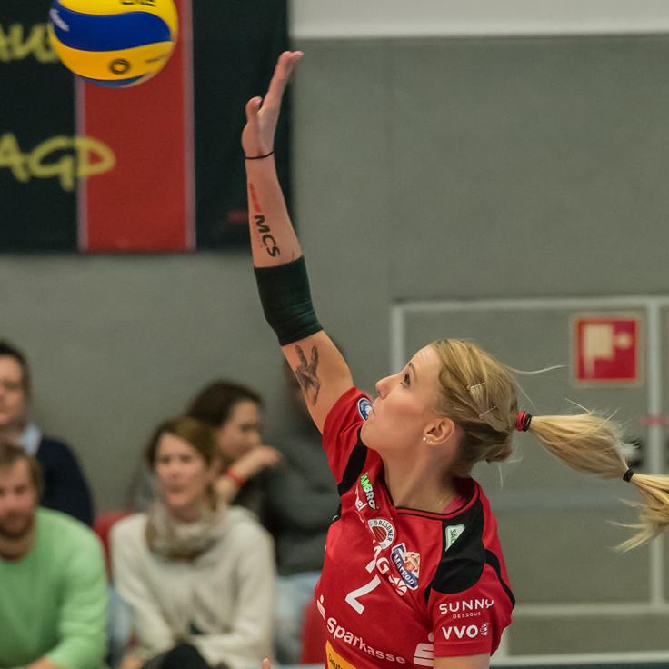 Mareen Apitz DSC Volleyball Sunny-Dessous