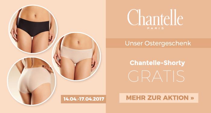 Sunny-Dessous wünscht frohe Ostern: Eine Chantelle-Shorty geschenkt!