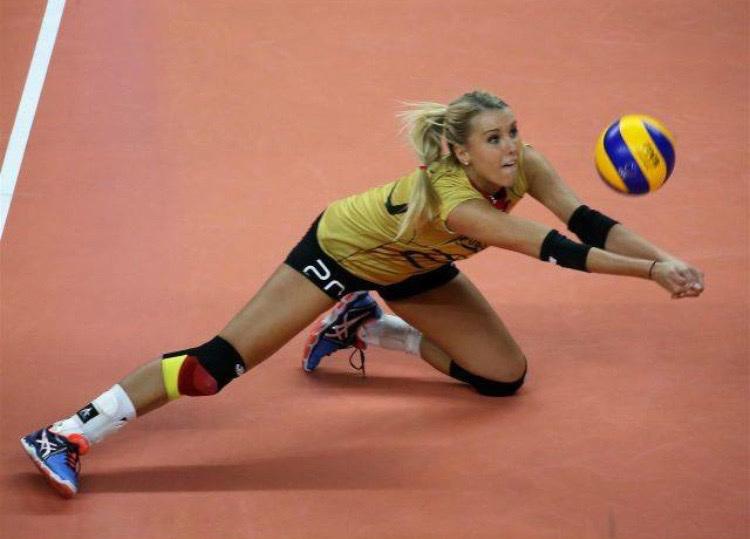Mareen Apitz DSC Dresden Volleyball, vom Playboy zur schönste Sportlerin 2017 gewählt