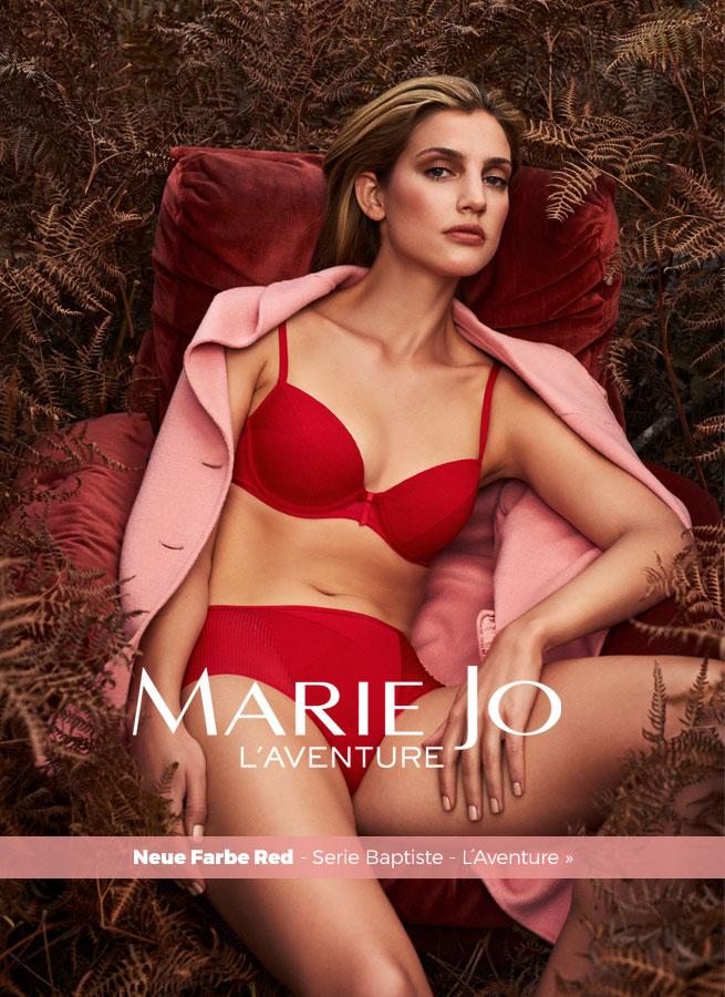 Baptiste - L´Aventure von Marie Jo in rot.