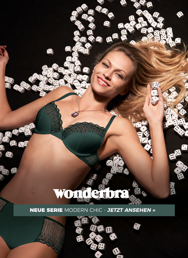 Modern Chic von Wonderbra - jetzt neu bei Sunny-Dessous!