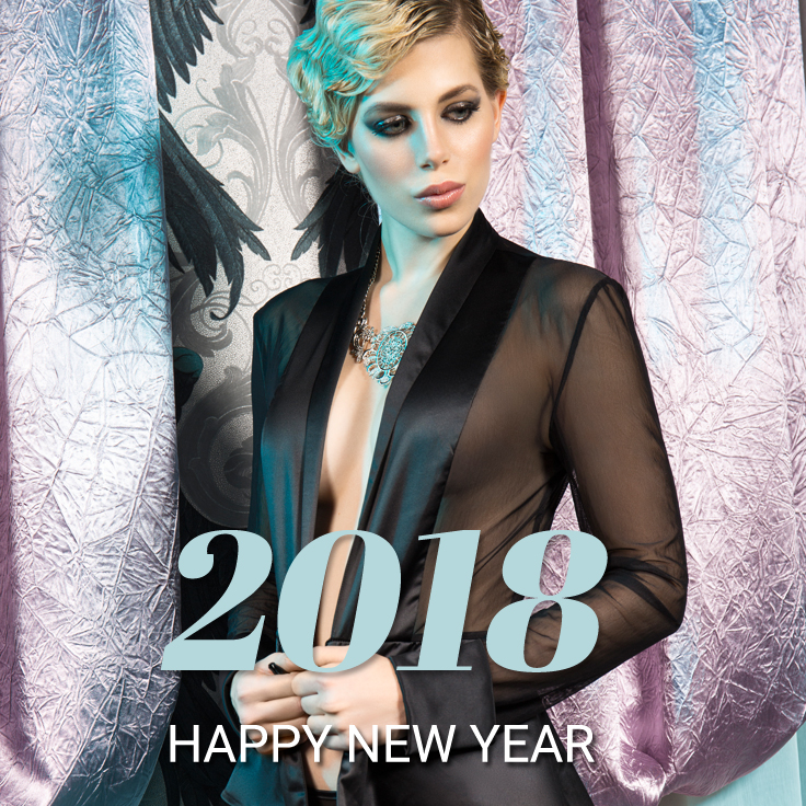 Happy New Year wünscht Sunny Dessous