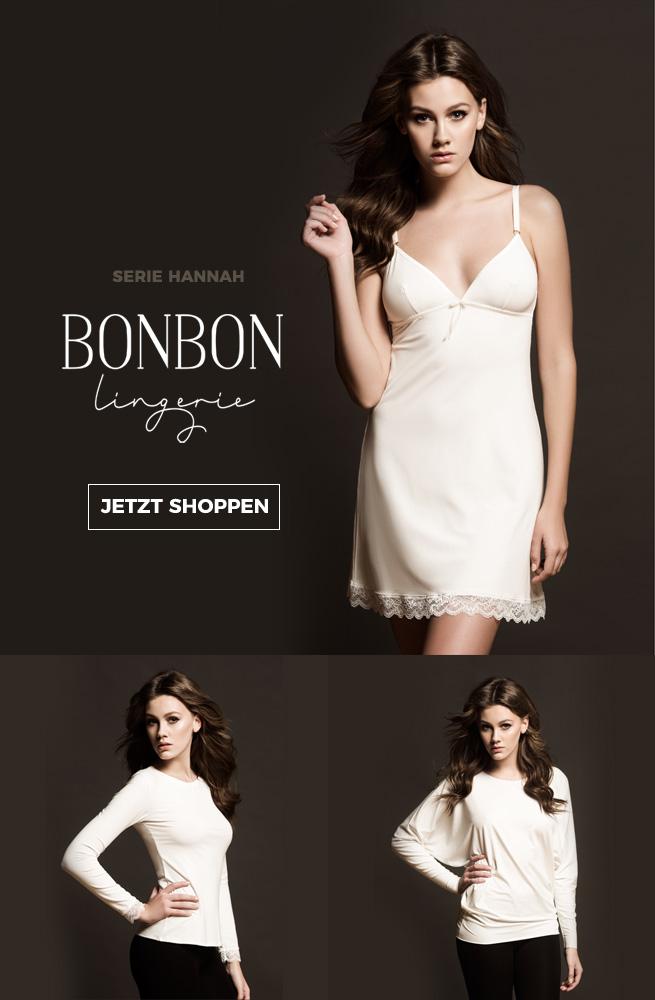 BonBon lingerie serie hannah - traumhafte nachtwäsche