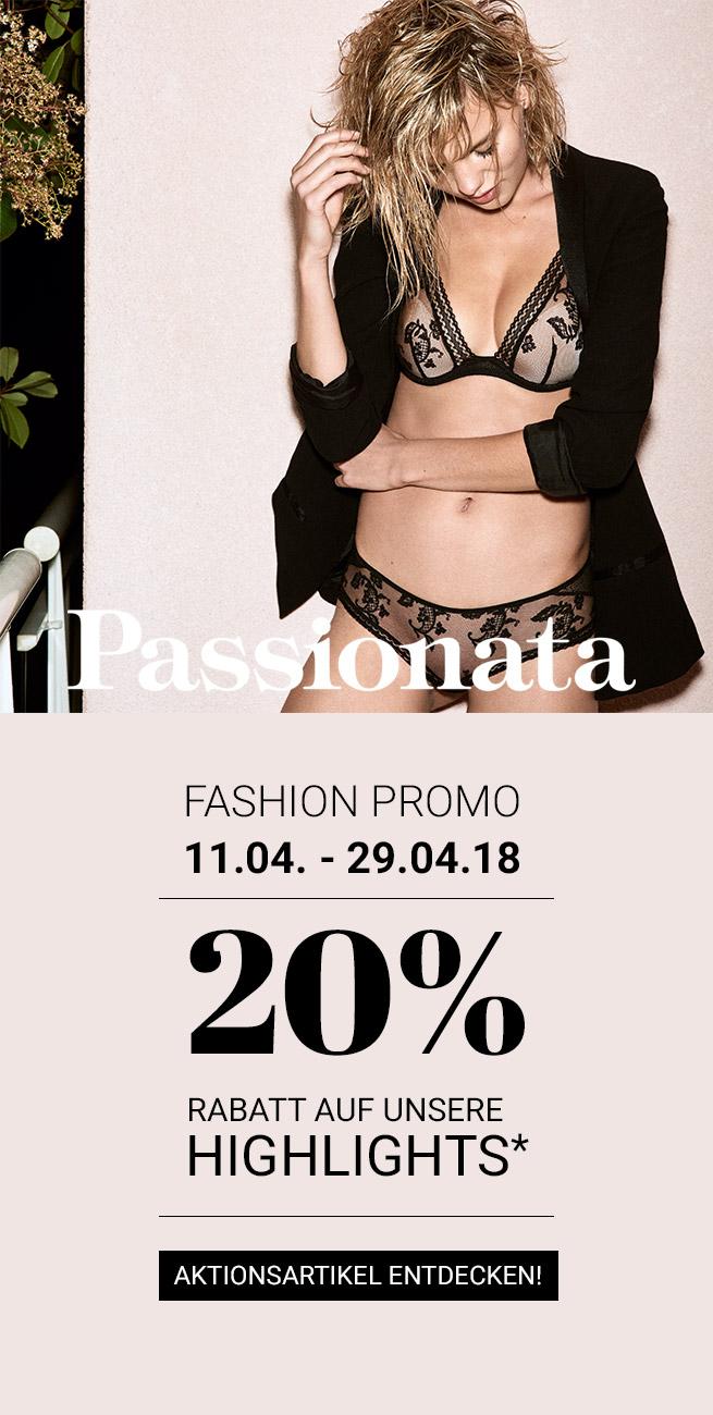 BLOG KW15 PASSIONATA_Promotion -20% Rabatt auf ausgewählte Serien