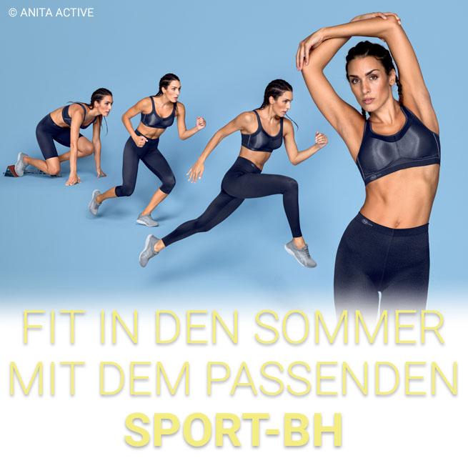 Sportwäsche und Sport-BHs für Damen