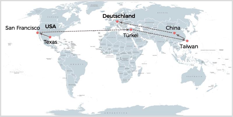 Weltreise der Baumwolle