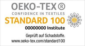 Logo ökotex standart 100
