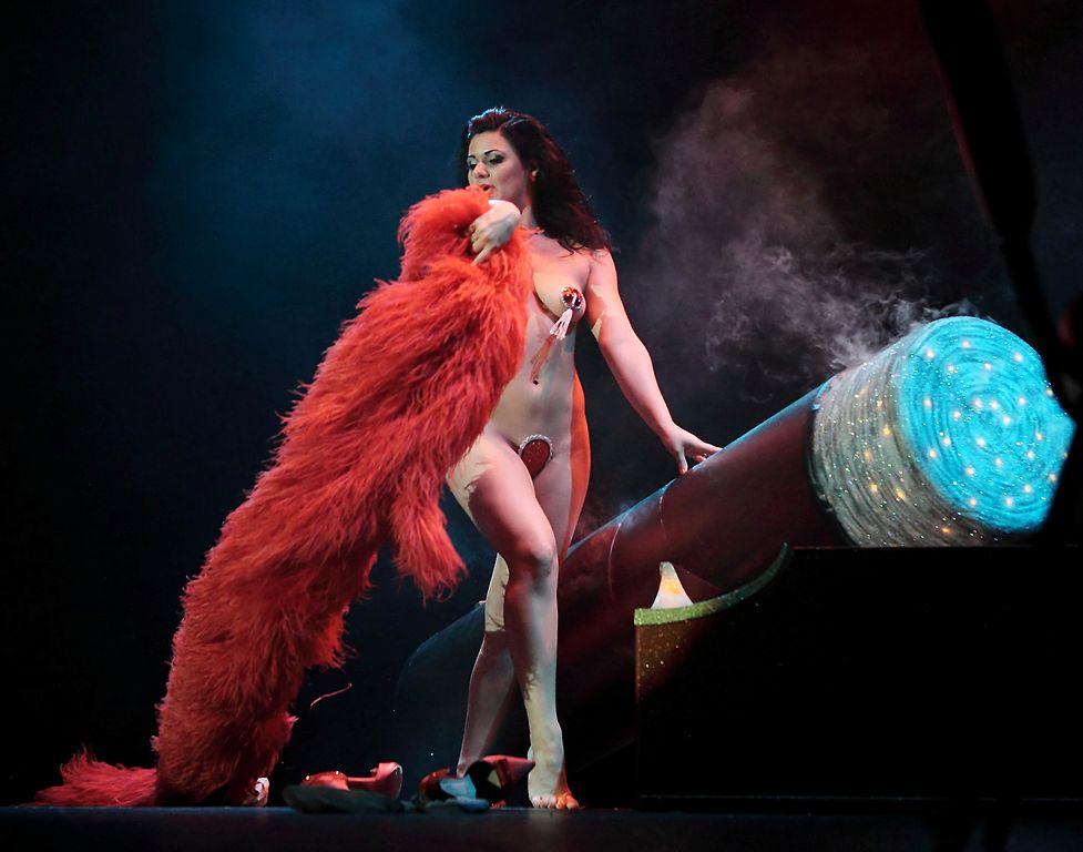 Roxi D'Lite auf der Bühne