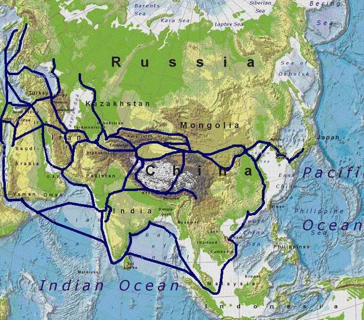 Netz der Seidenstraße