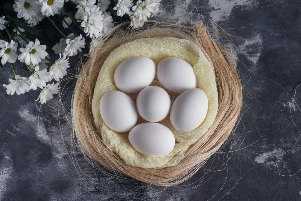 Das weiße Ei, Ursymbolik der Farbe weiß