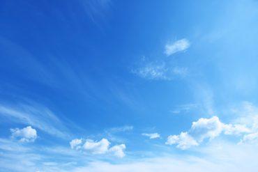 Blau sommer himmel
