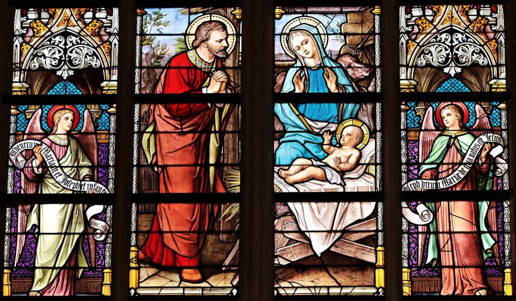 kirche-maria-mutter-gott-weihnachten-blau-christen-katolisch