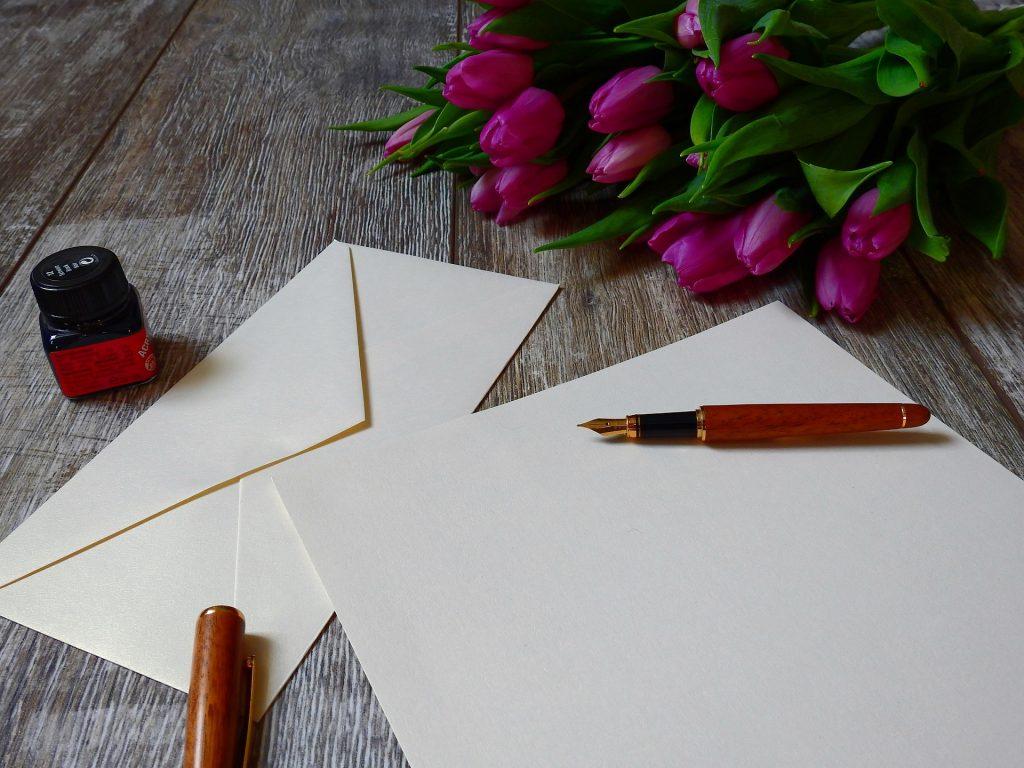 Die Kunst einen Liebesbrief zu schreiben, droht mehr und mehr verloren zu gehen