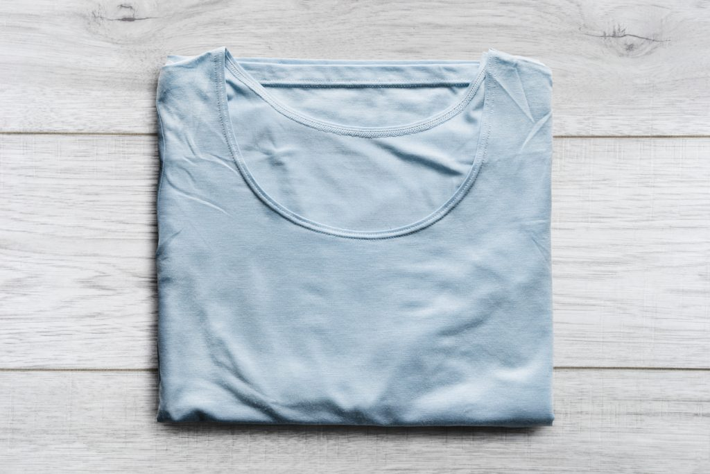 Shirt mit Knittern - Baumwolle, Viskose, Seide
