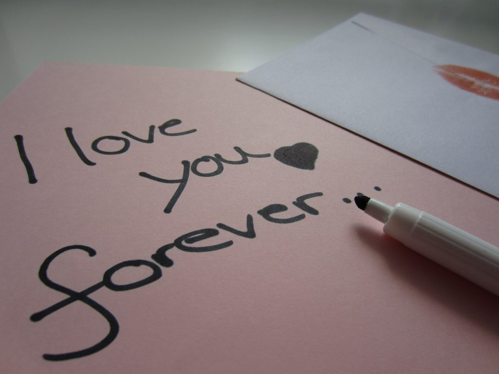 liebesbrief-i love you