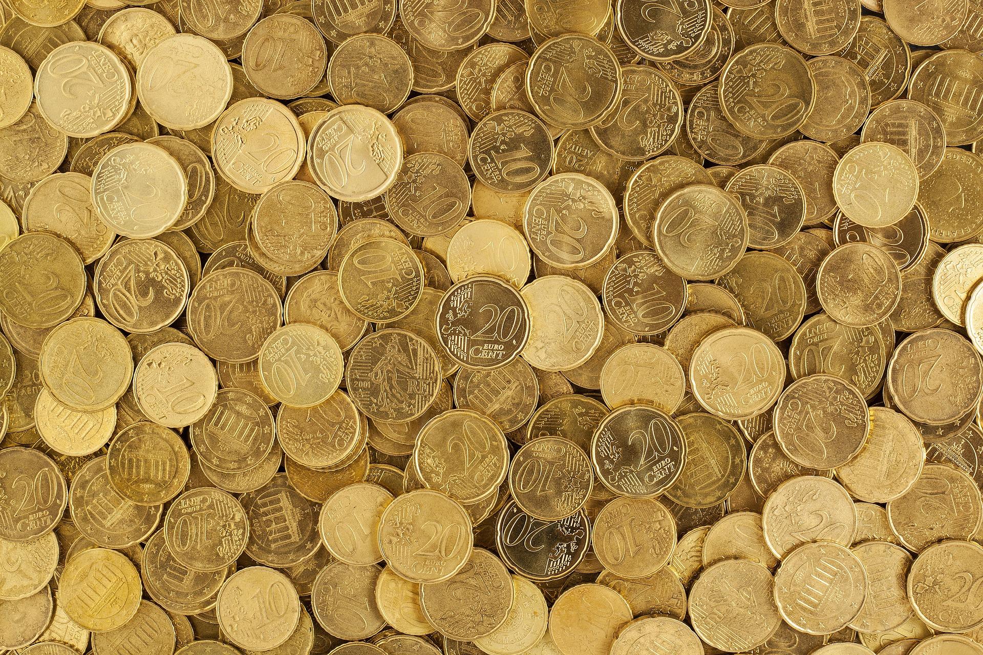 euro-gold steht für optimismus und reichtum, brillianz und fröhlichkeit