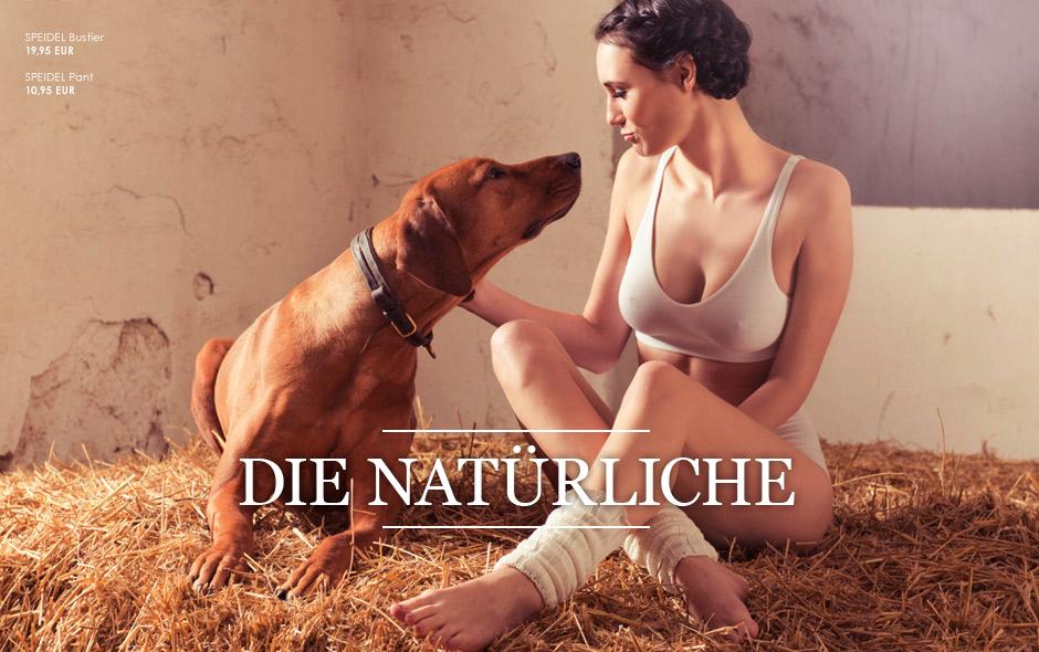 Die Natürliche  -  bequeme Unterwäsche für den Alltag