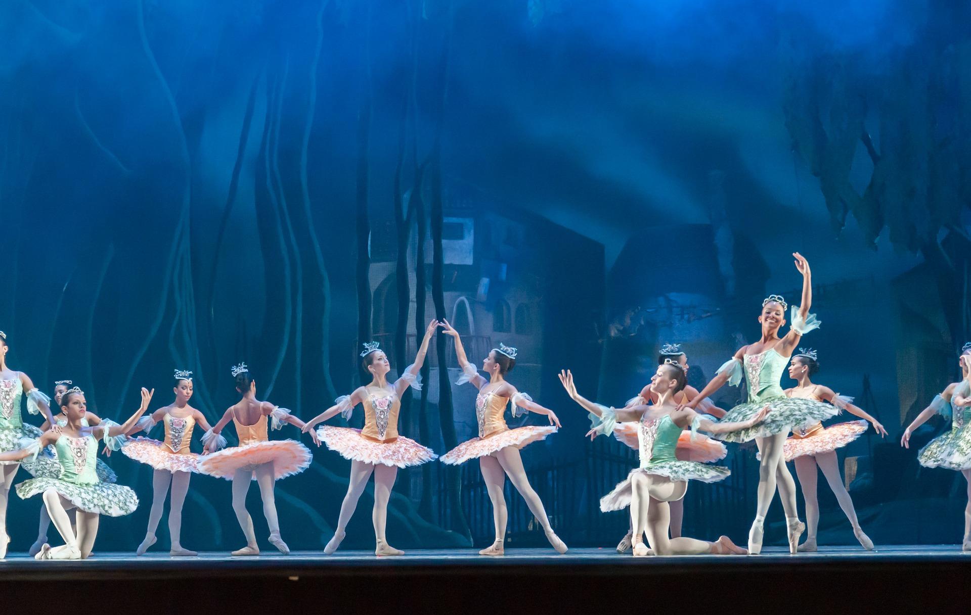 ballet-tutu-Transparente Eleganz - Tüll, Chiffon, Organza