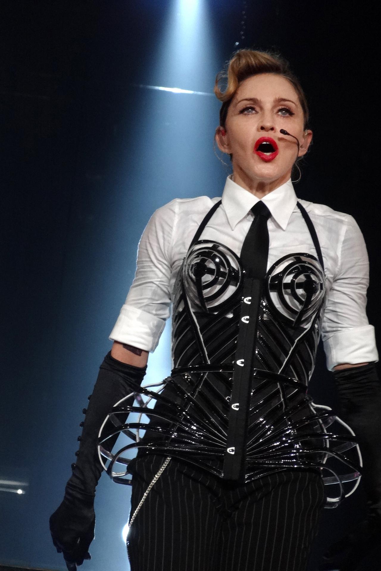 Madonna bei der MDNA Tour