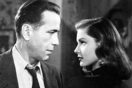 Bogart und Bacall in The Big Sleep