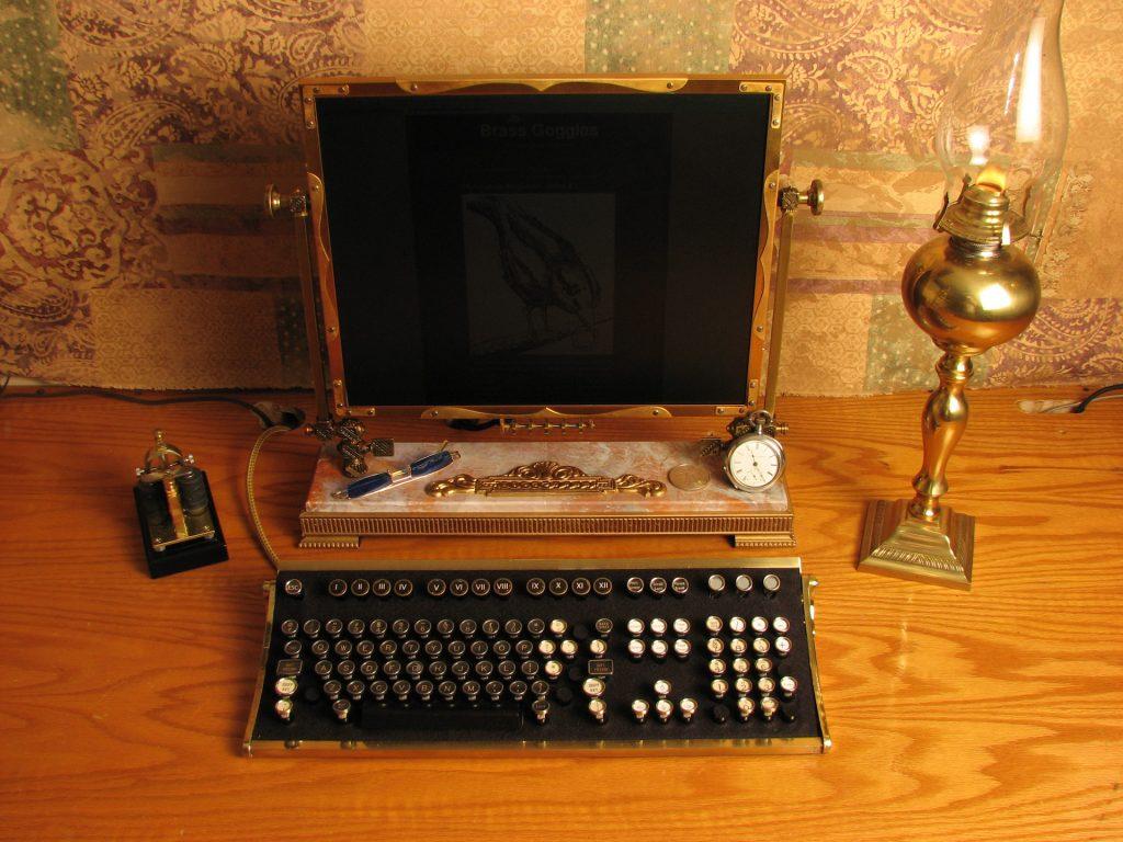 Steamtop - Computer im Steampunk-Design