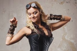 Steampunk Girl Detailbild