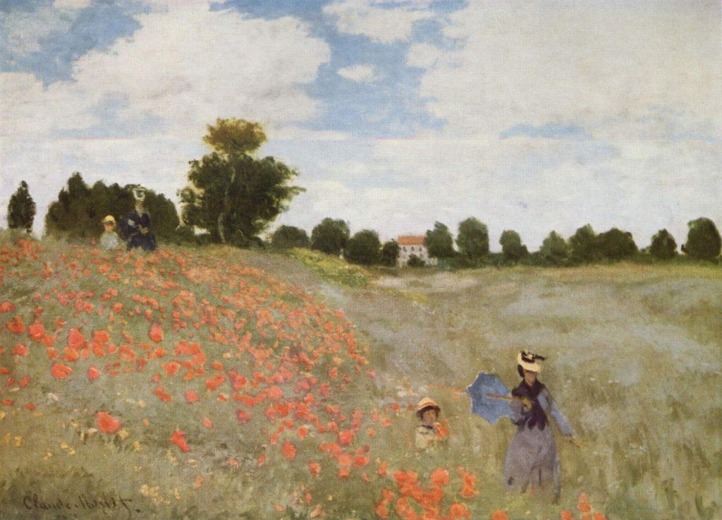 Claude Monet, Mohnfeld bei Argenteuil (1873)