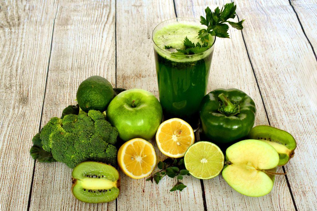 Grüne Smoothies gelten als sehr gesund