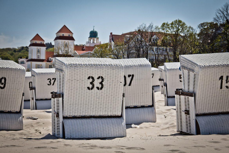 Strandkörbe bei Binz