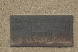 Mary Wigman Gedenktafel