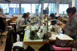 Ateliers von Simone Perele in Clichy bei Paris 2
