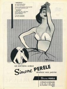Werbung von 1958