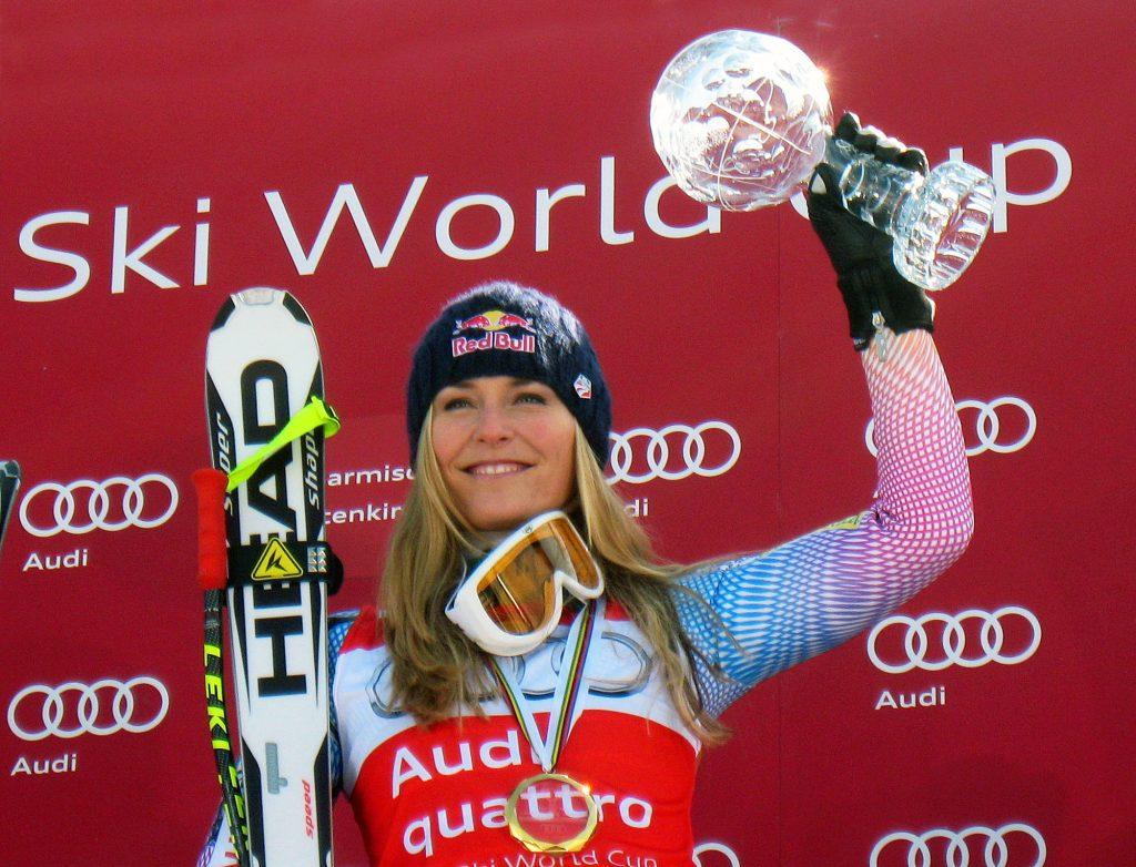 Lindsey Vonn Abfahrtsweltcup 2010