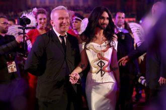 JPG und Conchita Wurst auf dem Life Ball 2014