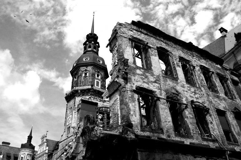 Ruinen in Dresden