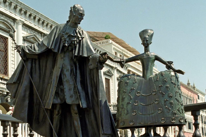 Statue von Giacomo Casanova