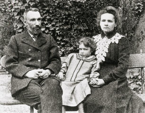 Pierre Marie und Irene Curie