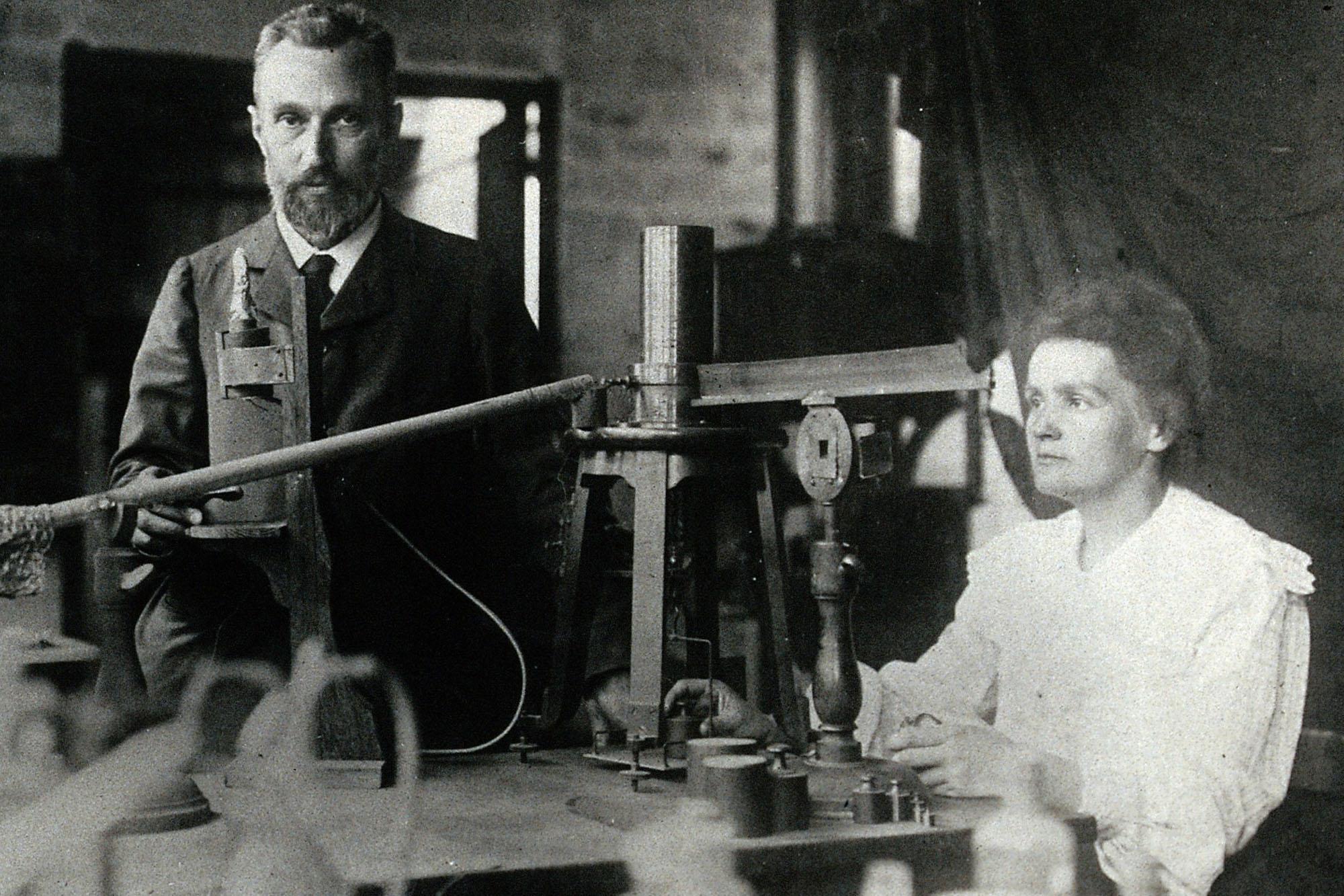 Pierre und Marie Curie