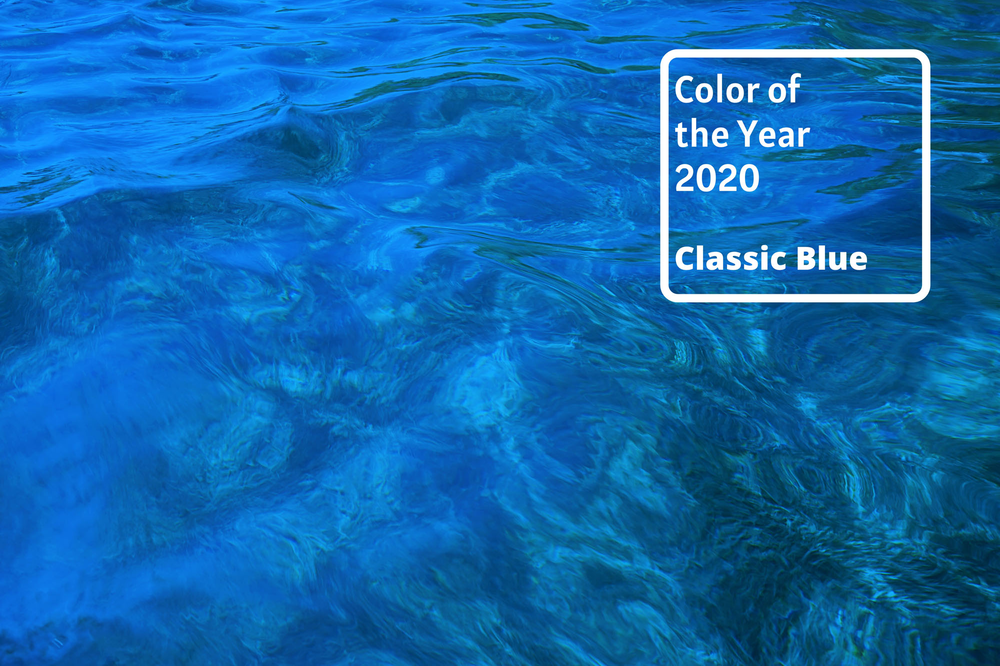 Classic Blue Pool