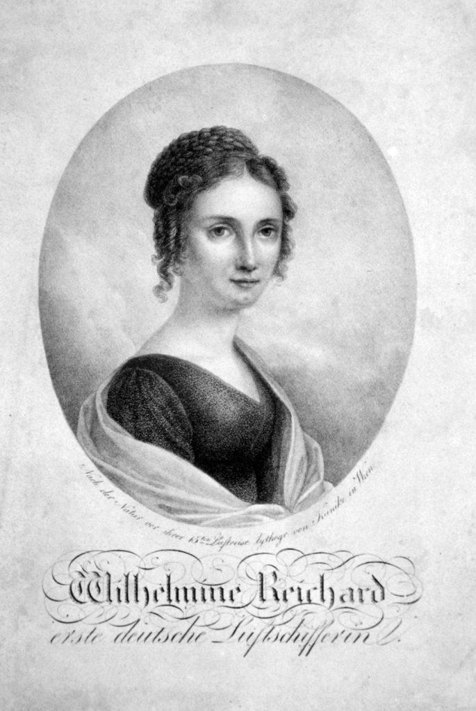Bildnis der Wilhelmine Reichard