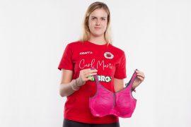 Emma Cyris vom Dresdner SC mit dem Anita Sport-BH